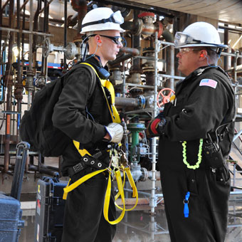 Total Safety provides comprehensive on-site rescue services, including high-angle, confined space and fall protection rescue. Ideal for remote and difficult work locations. Reduce liability.