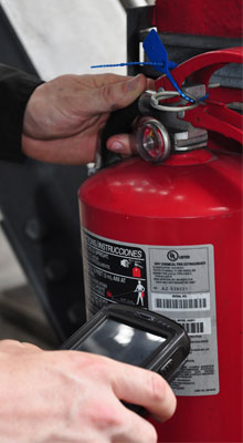 Fire protection ITM services for systems including fire hoses and trucks, hydrants, extinguishers, and more.