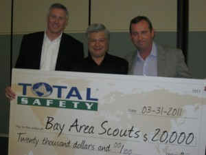 Total Safety Donates $20,000 to Bay Area Council Boy Scouts of America