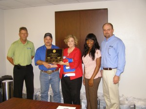 Total Safety's Suplphur, Louisiana location is awarded OSHA VPP Star Status