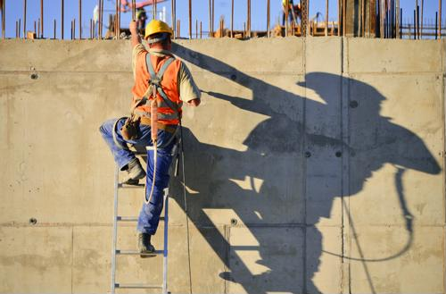 Issues with employees working at heights take up several spots on OSHA's top 10 violations list for 2017.